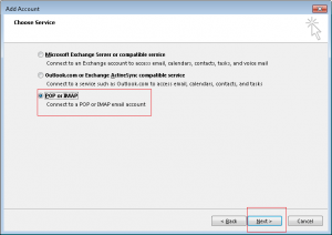 how to create e-mail account in outlook 2013 05