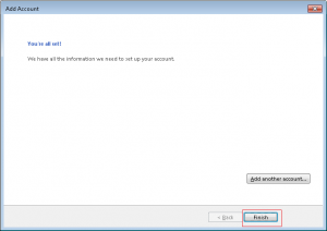 how to create e-mail account in outlook 2013 13