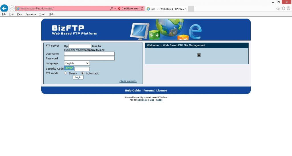 web based ftp001