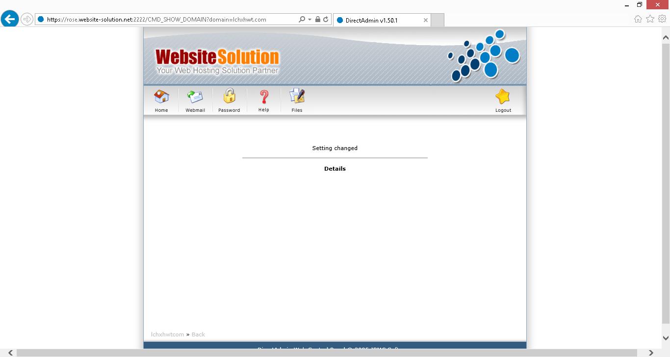 Directadmin setup free automatic ssl certificate from lets directadmin setup free automatic ssl certificate from lets encrypt xflitez Images