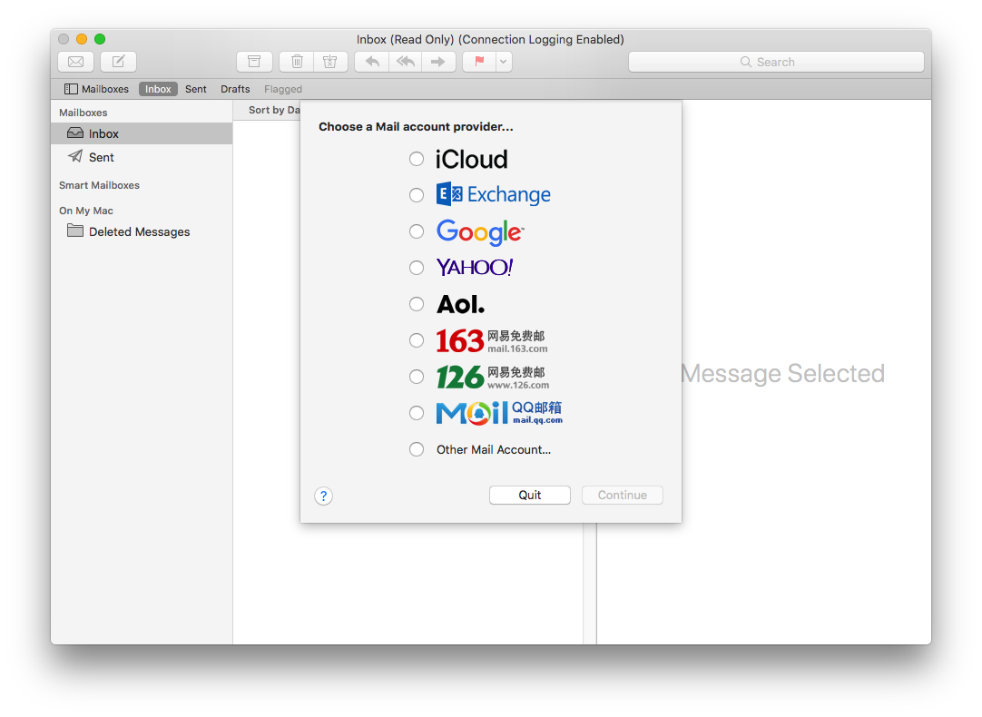 How to set up email accounts on MacOS Mail - Website