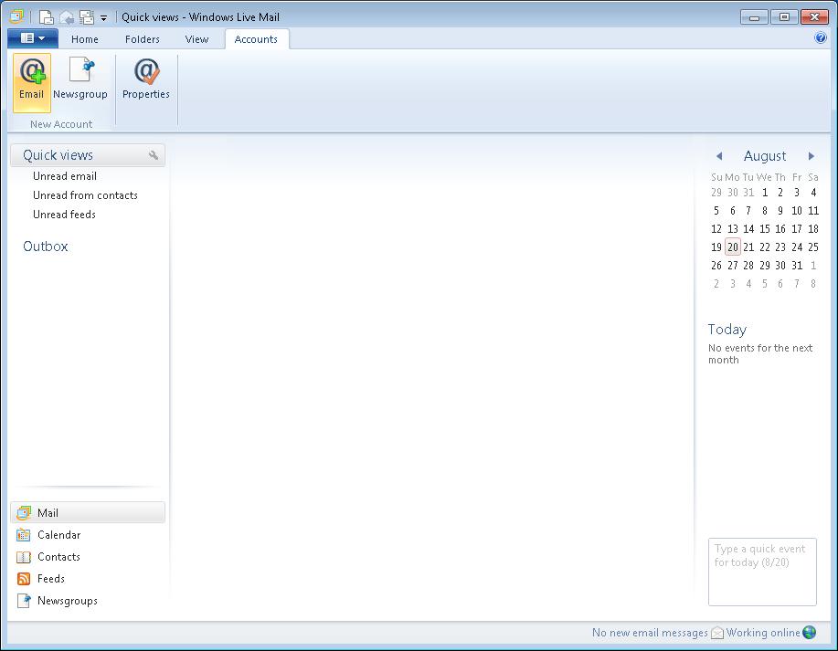 installer windows live mail 2012 sur windows 10